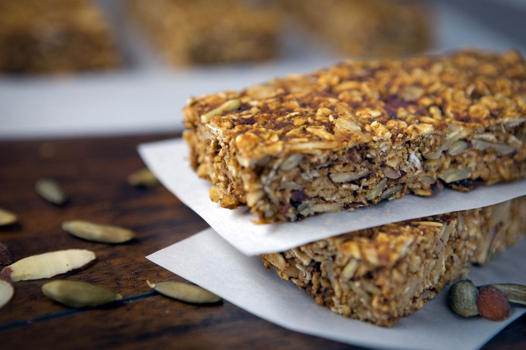 Healthy Pumpkin Granola Bars Recipe | Elizabeths Home