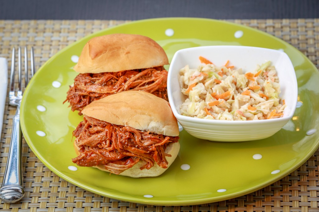 Chicken Salad and Pulled Pork-5698